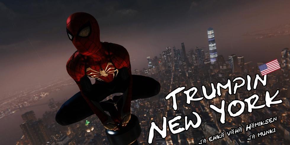 Spider Man Trump New York