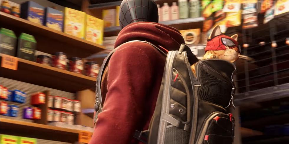 Spider-Man: Miles Morales kissa
