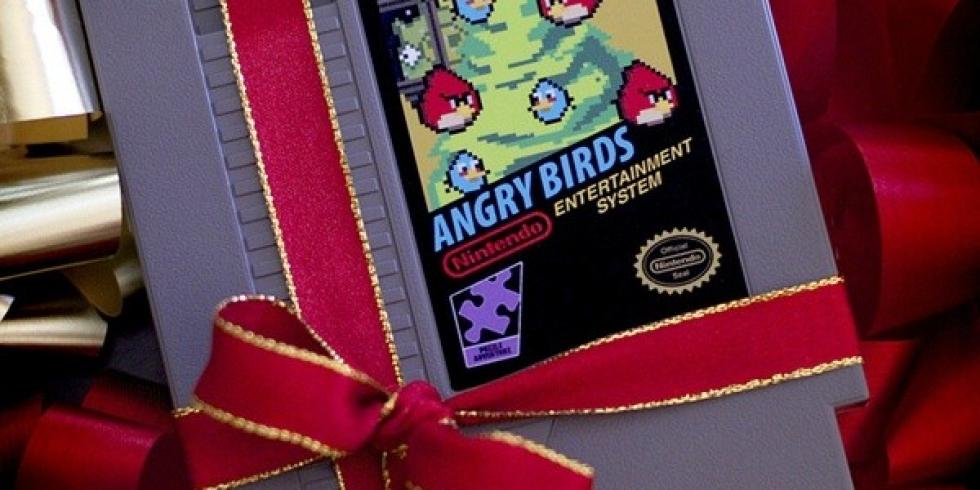 Angry Birds NES joulu