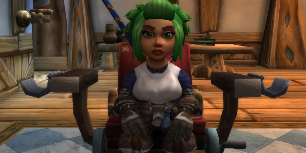 World of Warcraft barber