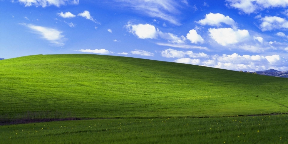Windows XP Bliss taustakuva