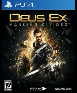 Deus Ex: Mankind Divided (PS4-kansi)