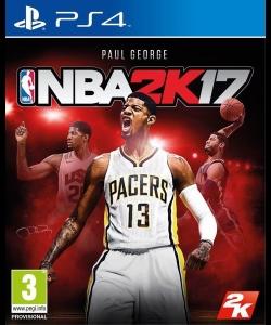 NBA 2K17 -kansikuva