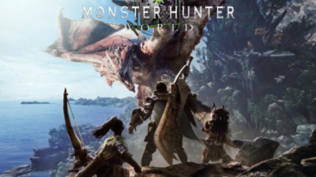 Monster Hunterin tiimi vuoren laella