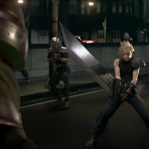 Final Fantasy VII Cloud uusioversio