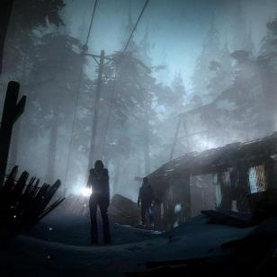 Until Dawn, melkein kuin mökki metsän keskellä