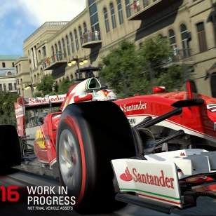 F1 2016 nostokuva