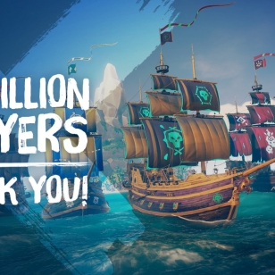 Sea of Thieves 15 miljoonaa