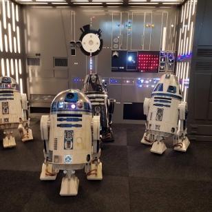 Tukholma Comic-con droidien kokoontumisajot