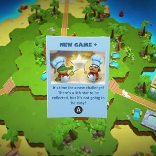 Overcooked 2 Surf n Turf lisäri dlc New Game Plus