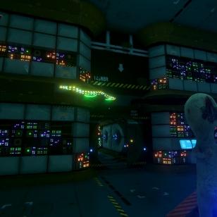 Wanking Simulator avaruusolentojen seurassa