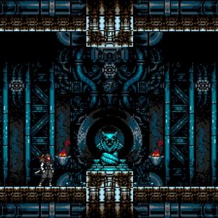Cyber Shadow_temppelissä