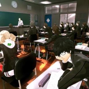 Persona 5 screen