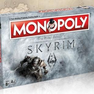 Skyrim Monopoly Monopoli lautapeli