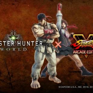 Monster Hunter: World x Street Fighter V