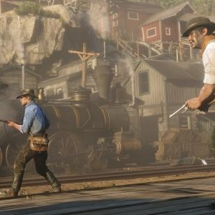 Red Dead Redemption 2 ammuskelu