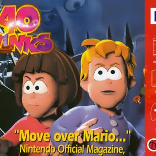 40 Winks kansikuva Nintendo 64 retro