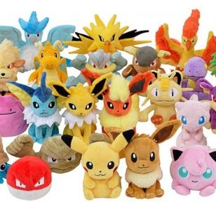 Pokémon Fit kesän pehmolelut