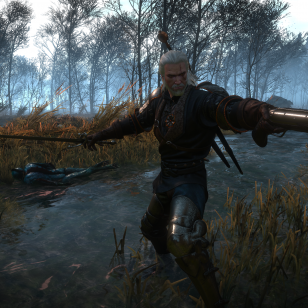 The Witcher 3 Firearms modi