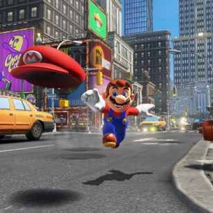 Super Mario Odyssey Switch hattu