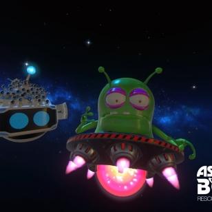 ASTRO BOT Rescue Mission - Alien attack