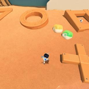 ASTRO's PLAYROOM Tuttuja kuvioita hiekkarannalla.jpg