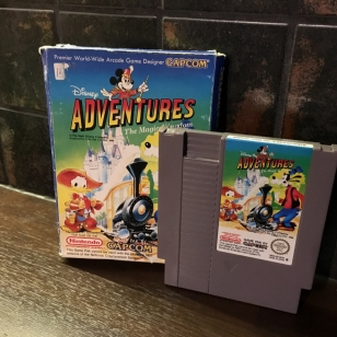 Adventures in the Magic Kingdom NES Retromuistelo