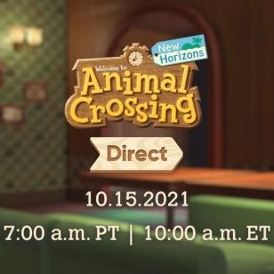 Animal Crossing New Horizons Direct lokakuu 21
