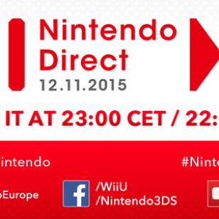Nintendo Direct marraskuu