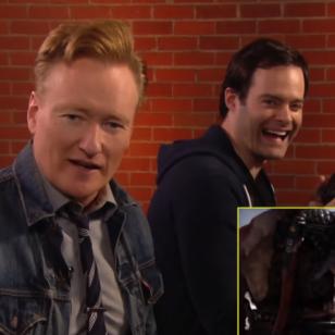 Conan O'Brien Clueless Gamer God of War Bill Hader