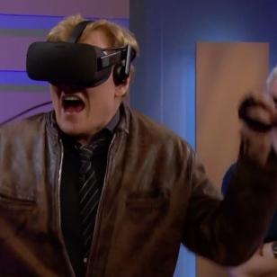 Conan O'Brien Oculus Clueless Gamer