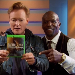 Conan ja Terry Crews Battlefield 1