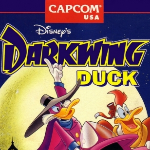 Darkwing Duck Varjoankka banneri