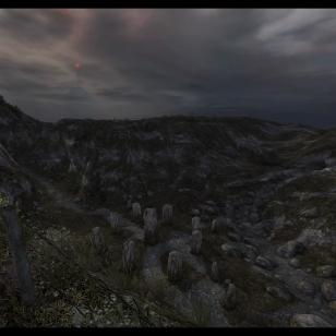 Dear Esther: Landmark Edition - Yksi versio stonehengestä