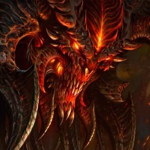 Diablo itse pahis kuvissa Blizzard