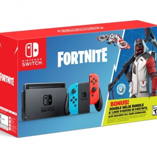 Nintendo Switch konsoli Fortnite bundle