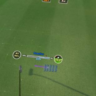 Everybody's Golf VR - Harjoituslyönti