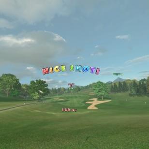 Everybody's Golf VR - Kannustavaa palautetta