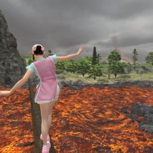 Everybody's Golf VR - Oikoreitti