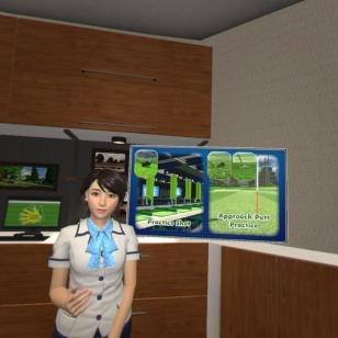 Everybody's Golf VR - Respan tyttö
