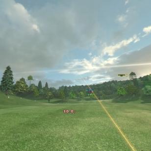 Everybody's Golf VR - Sinne se lentää