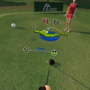 Everybody's Golf VR - Yleiskuva väylästä