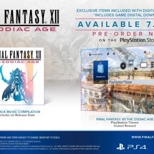 Final Fantasy XII: The Zodiac Age Collector's Edition