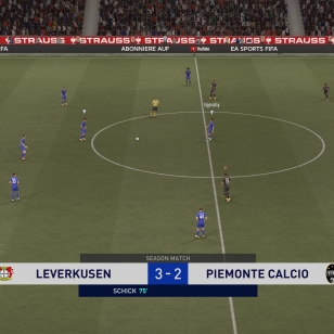 FIFA 21 Lukekusen johtaa, feikki-Juventus ei
