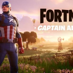 Fortnite Captain America Kapteeni Amerikka