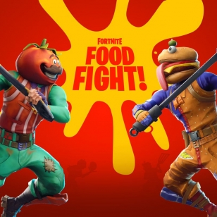 Fortnite Food Fight ruokasota
