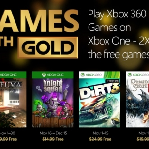 Games With Gold marraskuu