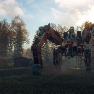 Generation Zero - Harvester in Clearing.jpg