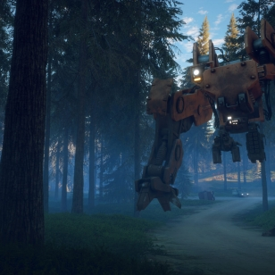 Generation Zero - Tank in Forest.jpg