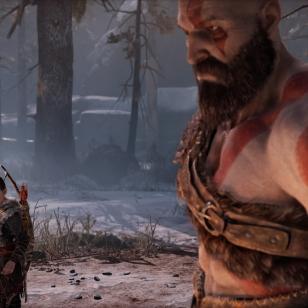 God of War: Kratos ja Atreus (vas.)